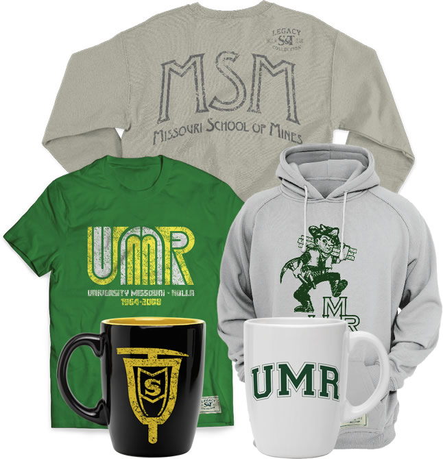 Merchandise such as tshirts, hoodies, and mugs