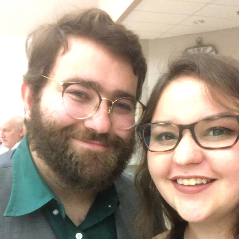Elizabeth and Teddy Caputa-Hatley