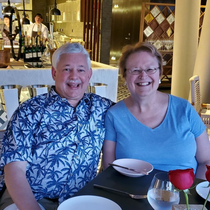 Pam (Thebeau) and Dennis Leitterman