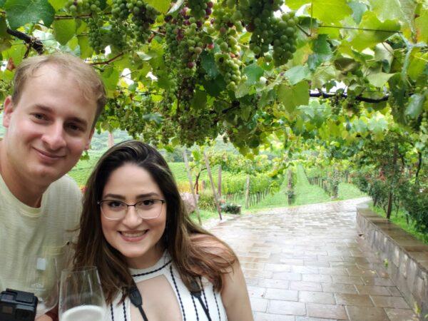Raíssa Sousa and Welenton Webler