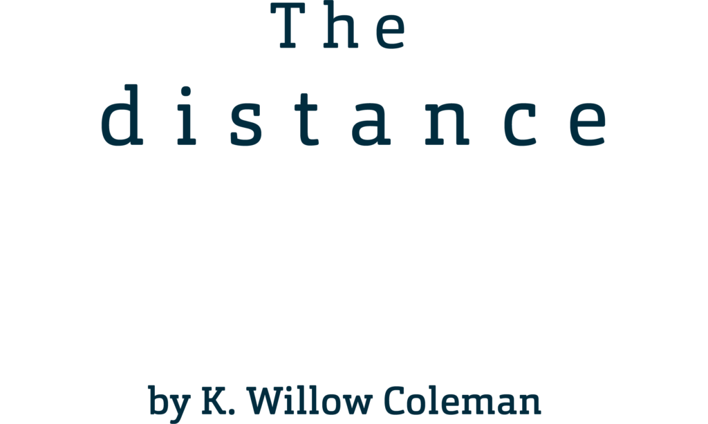 The Distance Between the Waves by K. Willow Coleman